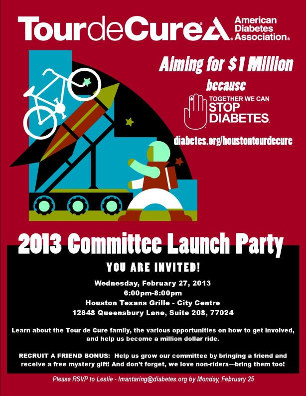 ADAH Tour Committee Launch Party Invitation