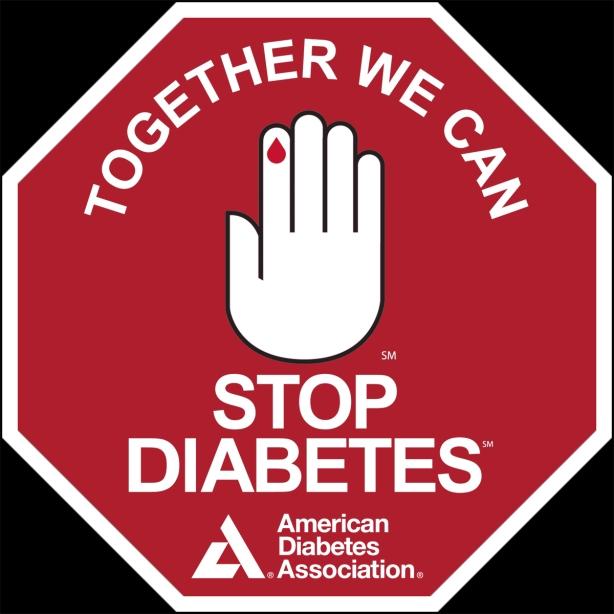 Stop Diabetes Stop Sign